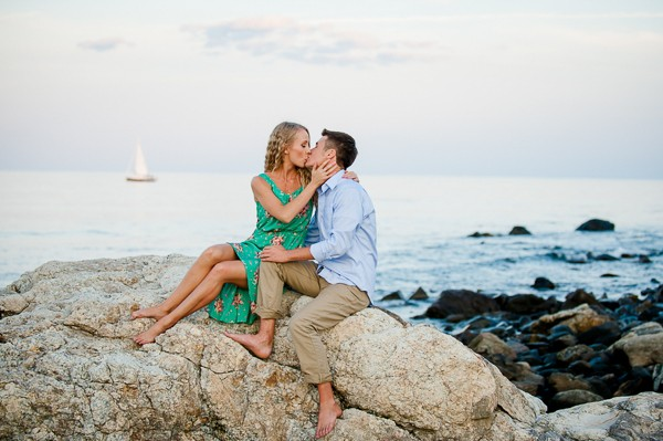 Odiorne Point State Park Engagement Photos