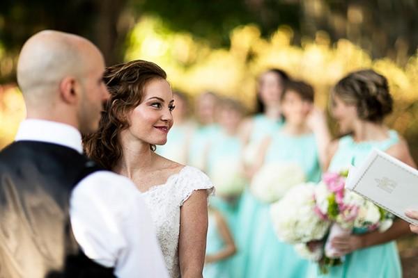 Outdoor Georgia Real Wedding Photo