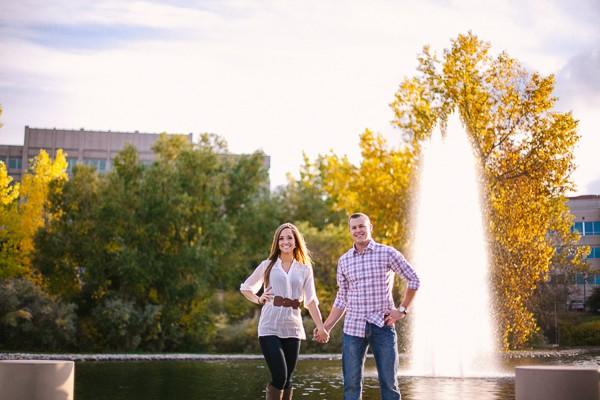 George Wallace Park Colorado Engagement Photos