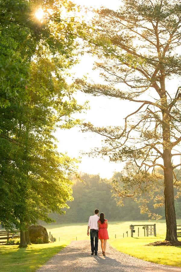 Saxonburg Pennsylvania Engagement Photos