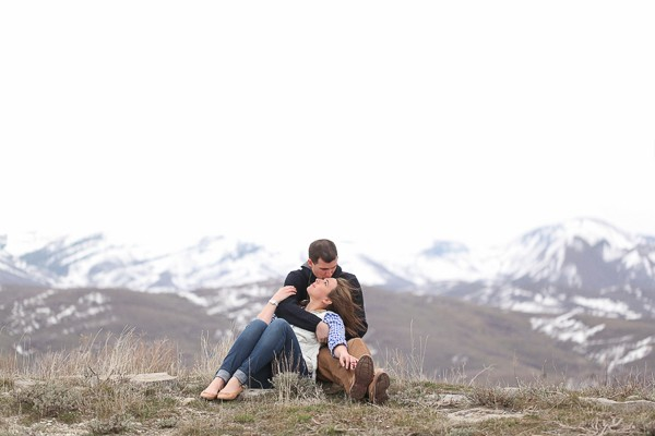 Huntsville Utah Engagement Photos