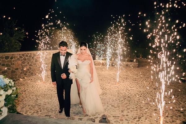 Santorini Island Greece Real Wedding