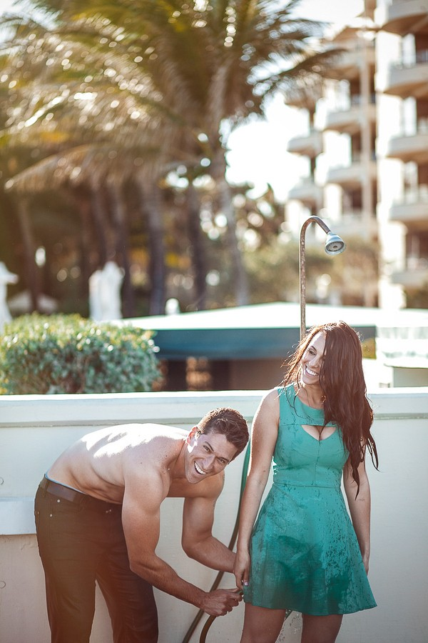 Florida Beach Engagement Photos