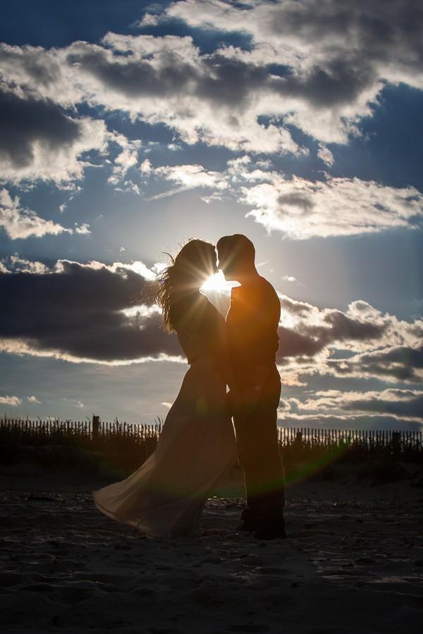 Massachusetts Beach Engagement Photos
