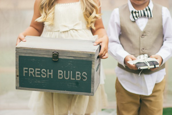 Whimsical styled shoot captured by Alexandra Wallace. Featured on Trendy Groom
