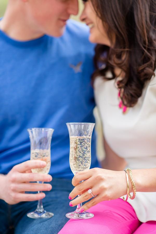 Newport News Virginia Proposal featured on Trendy Groom
