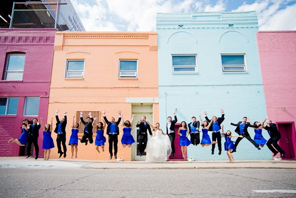 colorado wedding photos featured on Trendy Groom
