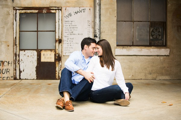 Durham, North Carolina engagement photos captured by Magnolia Photography. Featured on Trendy Groom.