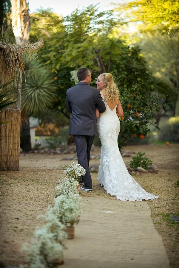 Rustic Outdoor Arizona Wedding Photos featured on Trendy Groom