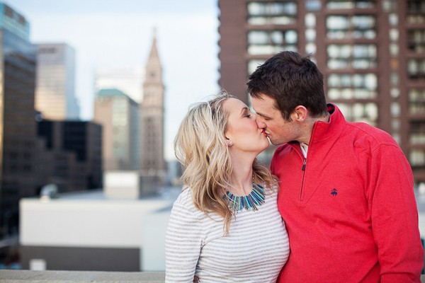 Denver urban engagement session captured by Urban Safari Photography, Ltd. Featured on Trendy Groom.