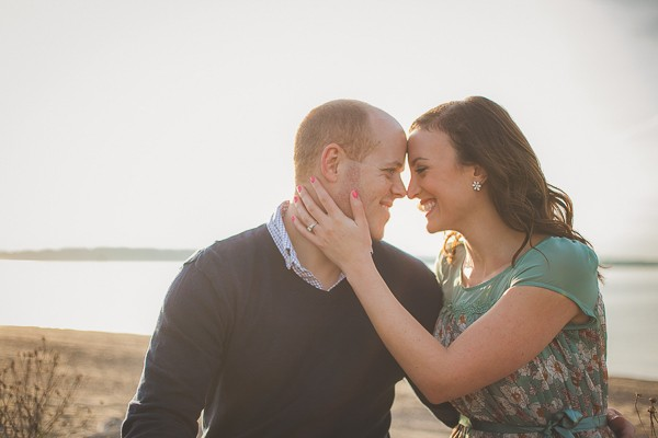 Seattle Lighthouse Engagement Photos captured by Genesa Richards Photography. Featured on Trendy Groom