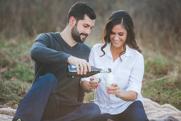 Fort Steilacoom Park Engagement Session captured by Genesa Richards Photography. Featured on Trendy Groom.