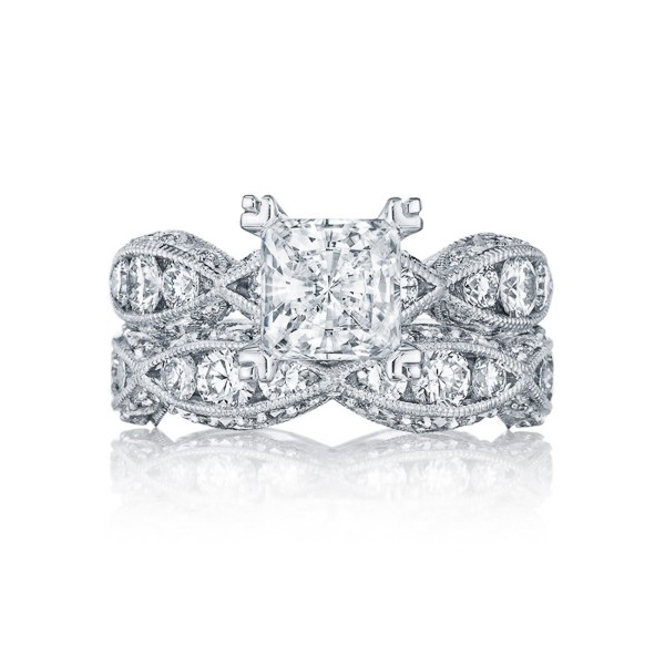 Tacori Engagement Ring For Her. Featured on Trendy Groom.