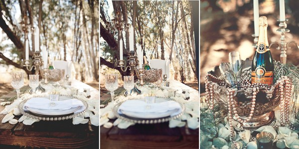Romantic Outdoor California Styled Shoot. Captured by London Light Photography. Featured on Trendy Groom.
