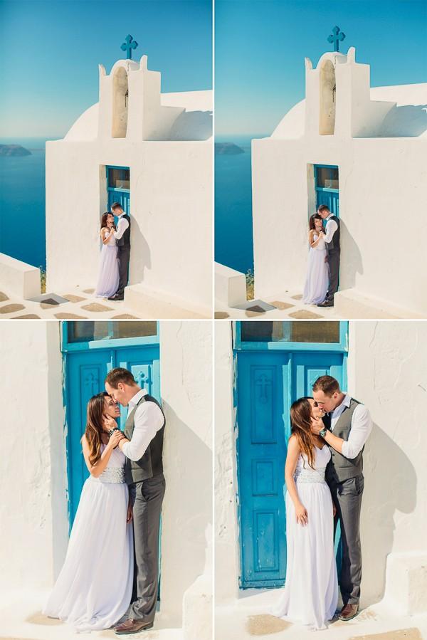 Dana Villas wedding by Anna Roussos. Featured on Trendy Groom.