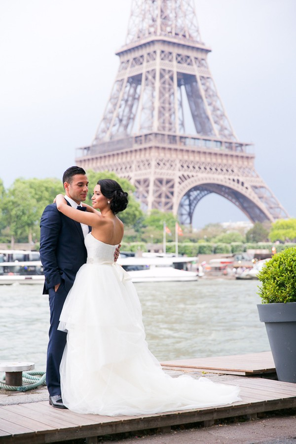 Paris inspired wedding theme for the groom. Captured by One and Only Paris Photography. Featured on Trendy Groom.