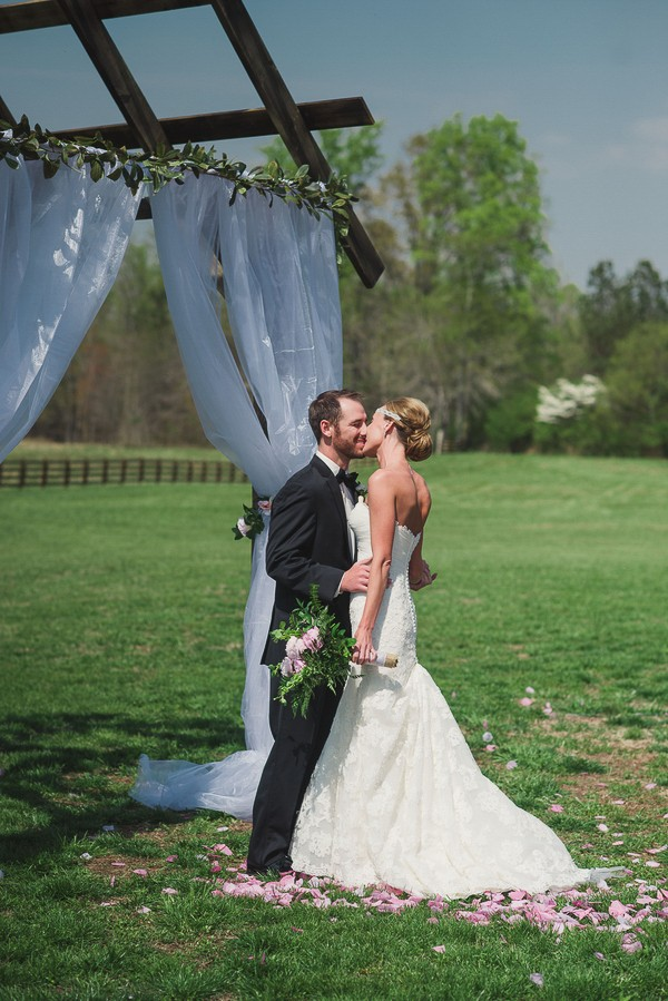 Southern Alabama Real Wedding. Featured on Trendy Groom