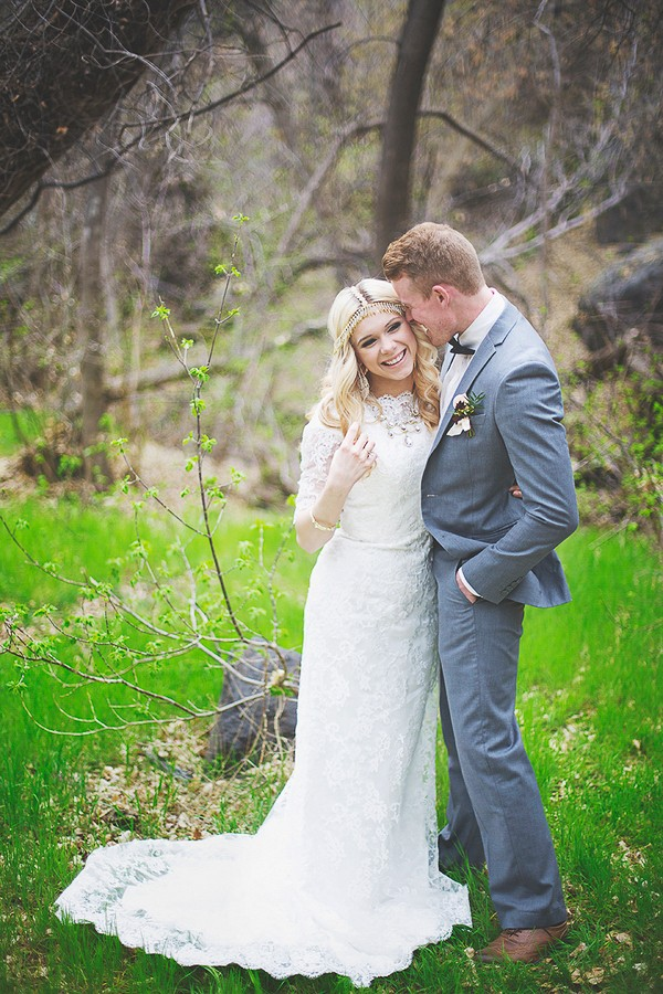 Romantic Bohemian Styled Shoot. Photography by Cassandra Farley Photography. Featured on Trendy Groom.