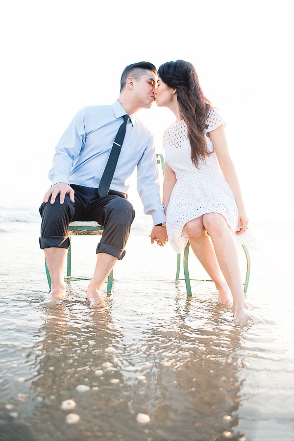 Lovely Beach Engagement Session