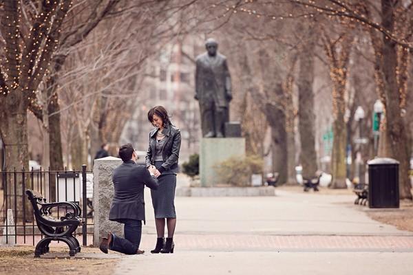 Romantic Park Proposal. Captured by Makayla Jade Creatives