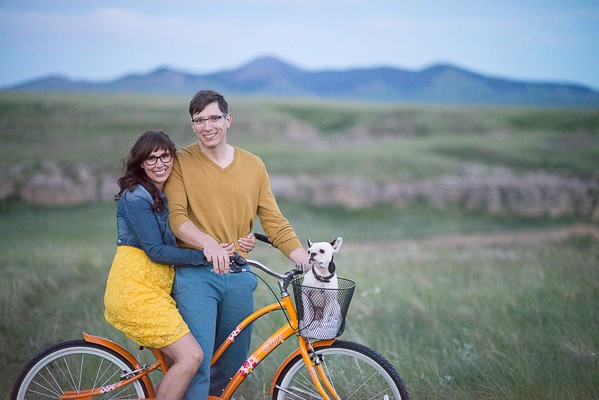 Lovely Alberta Canada Engagement Photos