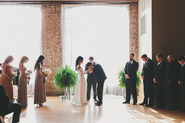 Lovely RiverMill Event Centre Wedding