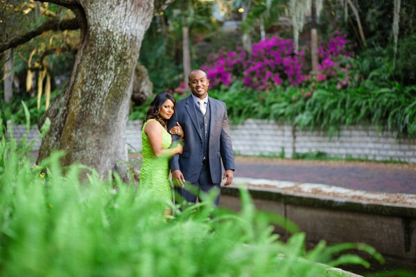 Lovely Outdoor Florida Engagement Photos