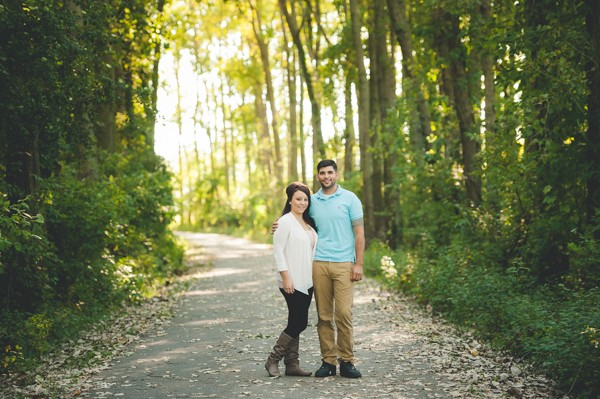 Lovely Maumee Bay State Park Engagement Session