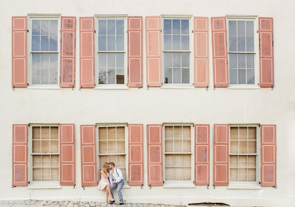 Stylish Charleston Engagement Shoot