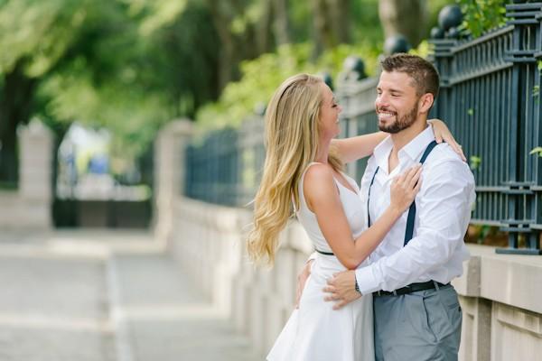 Stylish Charleston Engagement Shoot