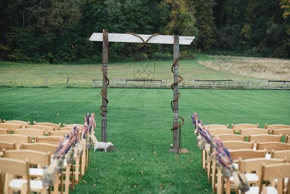 Bohemian Style Wedding