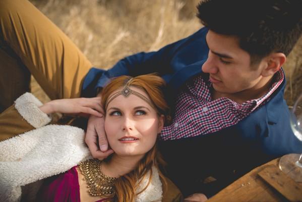 Boho Picnic Styled Engagement Session