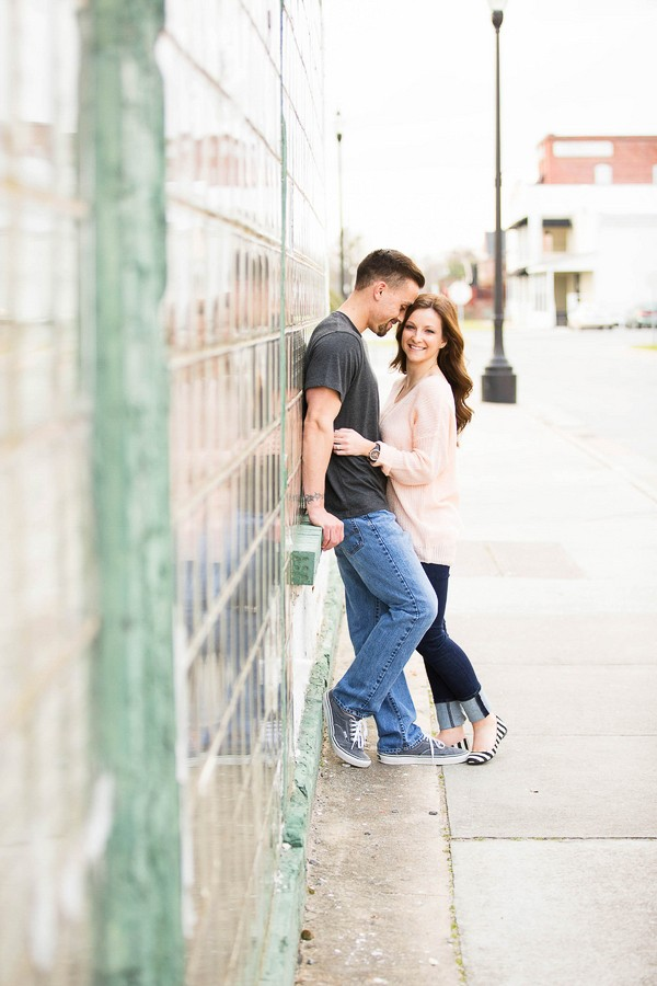Downtown Washington NC Engagement Session