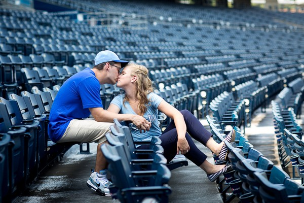 Kansas City Royals Engagement Session