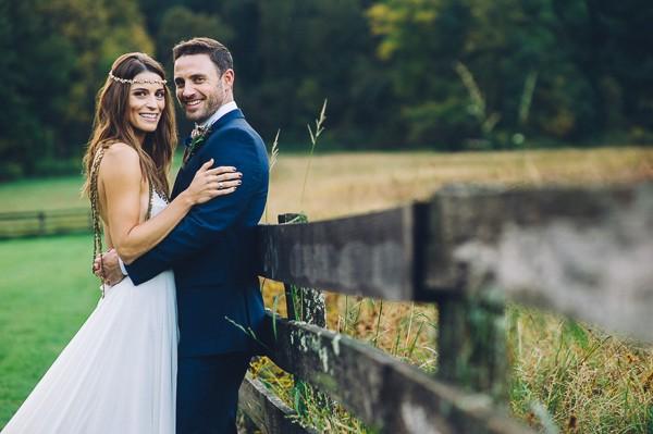 Bohemian Style Conrad Botzum Farmstead Wedding