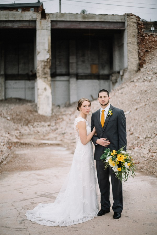 Downtown Knoxville Styled Wedding