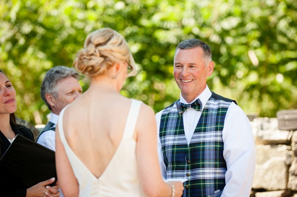 Elegant Backyard New Hampshire Wedding