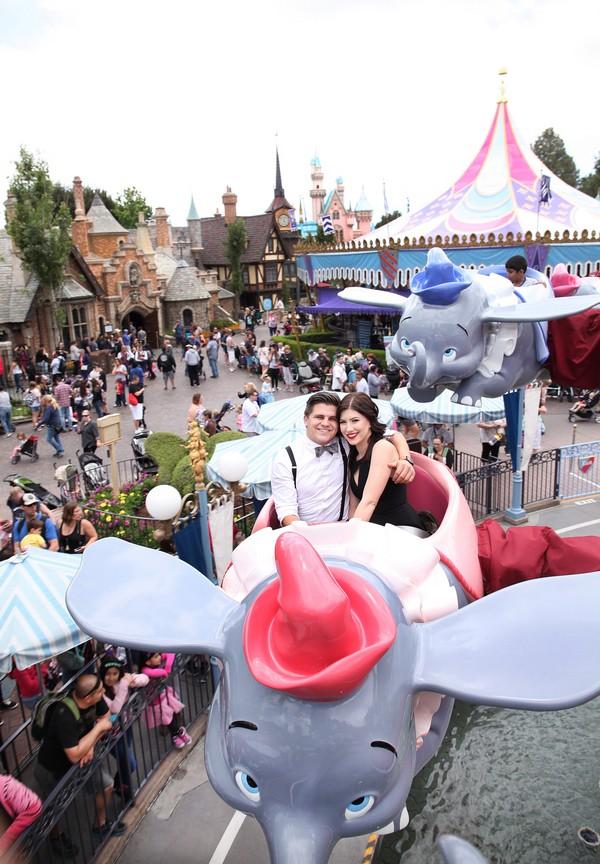Disneyland Engagement Session-14