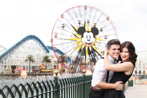 Disneyland Engagement Session-2