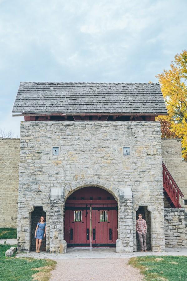 Fort de Chartres Illinois Engagement Session