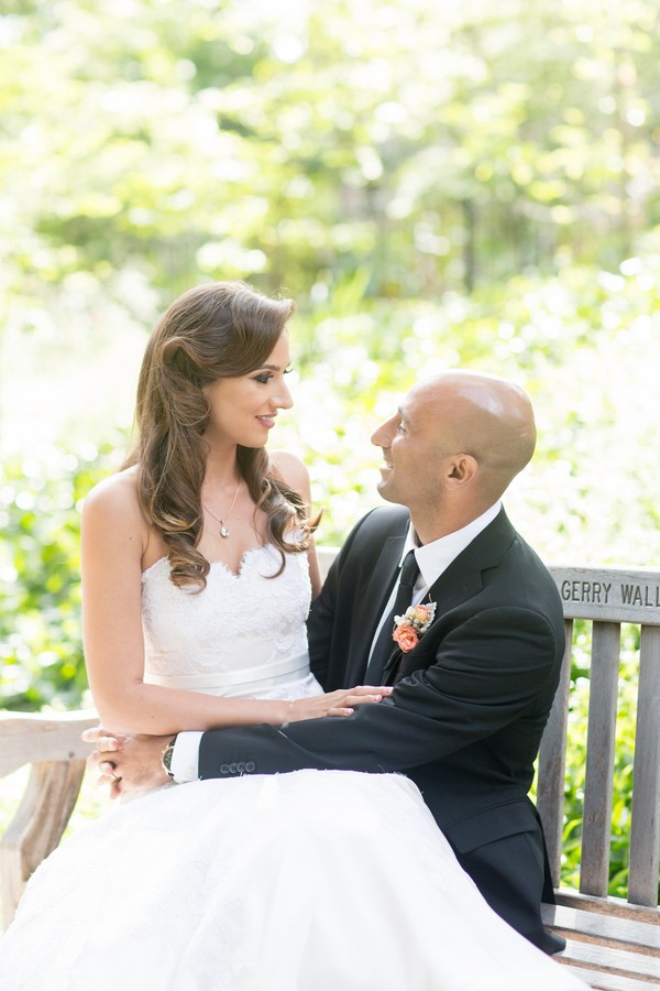 Outdoor Piedmont Community Center Wedding