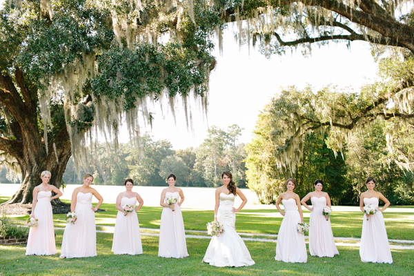 Classic & Chic Southern Plantation Wedding