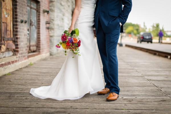 Historic Minneapolis Real Wedding