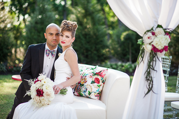 Modern Wedding in the Countryside