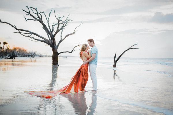 Magnolia Plantation and Gardens Engagement_