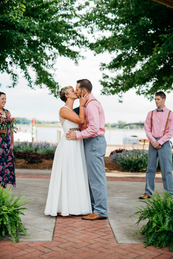 Mill Point Park Michigan Real Wedding