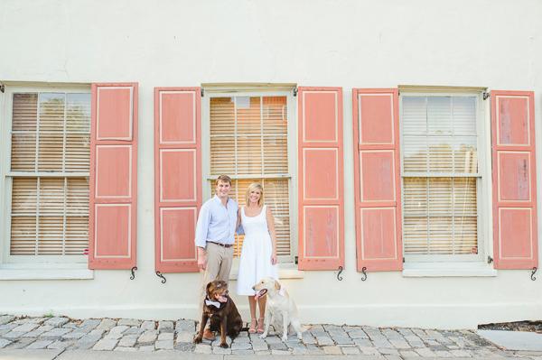 Charleston & Hampton Park Spring Engagement