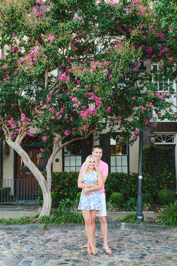 Downtown Charleston South Carolina Engagement