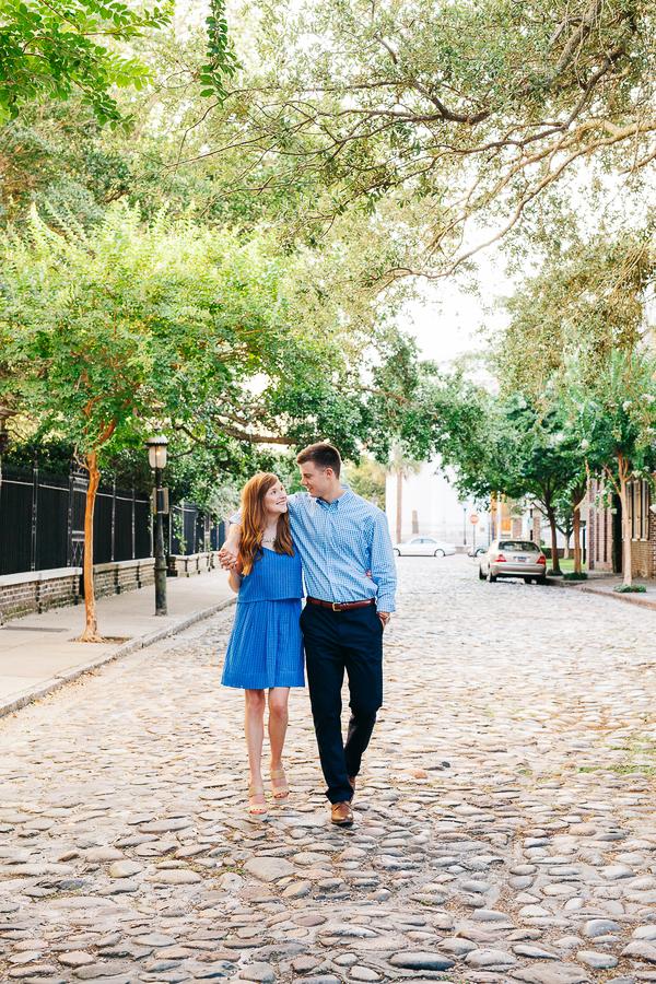 Romantic Charleston South Carolina Engagement