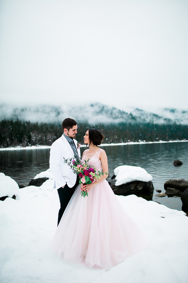 Blush Pink Inspired Winter Wedding-10